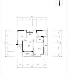 出租2室2厅1卫90平精装修