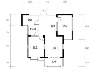 出售(城南)盛世名门2室2厅1卫98.29平精装修