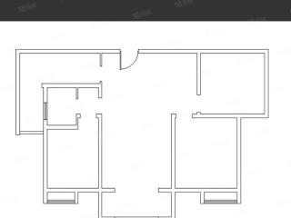 出售(城南)建桥香格里拉3室2厅1卫105.69平毛坯房